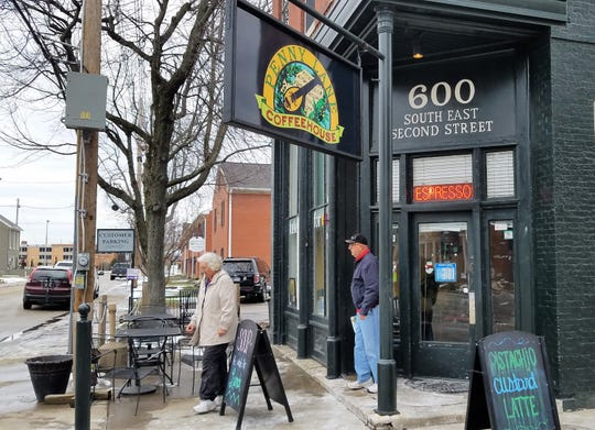 Penny Lane Coffeehouse has been a favorite downtown hangout since it was opened in 2000.