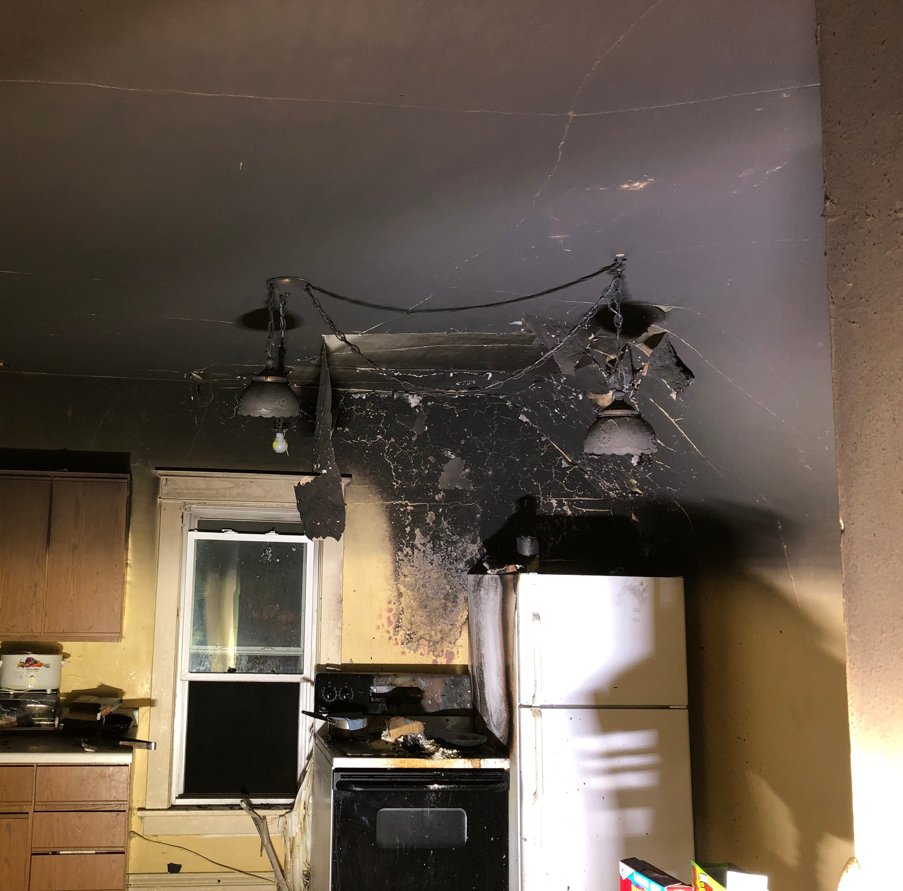 Fond du Lac home uninhabitable after unattended cooking caught fire Monday