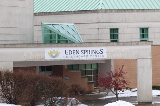 Eden Springs, a nursing home in Green Springs, has paid more than $500,000 in taxes and has caught up on other bills since a receiver took over the troubled facility last month.