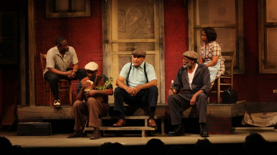 "A scene from Florida Rep's ""Fences"""