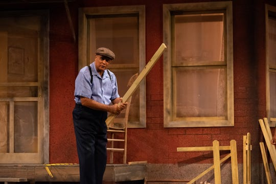"Mujahid Abdul-Rashid stars as Troy Maxson in Florida Rep's ""Fences"""