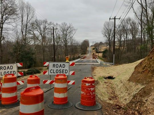 The Dillard Road bridge replacement work is nearing its end. Jan. 23, 2019