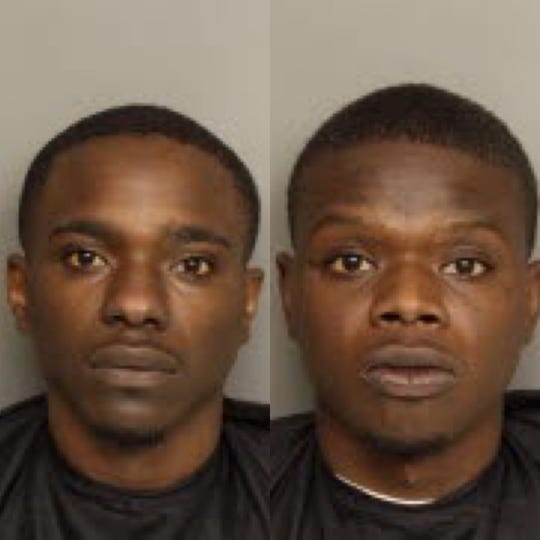 Kendrell De'Angelo Warren Jr. and Keymore Barnwell were arrested in connection with a Jan. 17 armed robbery at a Dollar General discount store on East Butler Road.