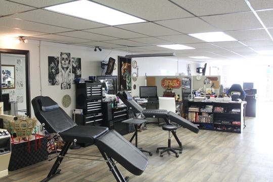 Falls Ink offers 50 percent off all services for active military and veterans.