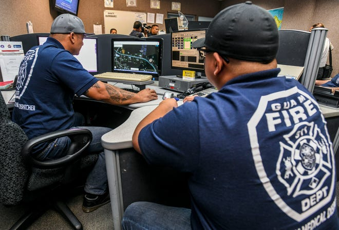 The 911 Center, along with personnel, will be temporarily relocated to the Guam Fire Departmentheadquarters, the Joint Information Center reported.