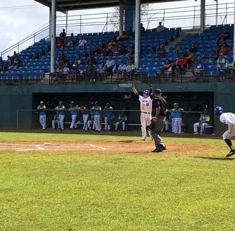 American Samoa routs Palau 13-2 in U18 Oceania baseball