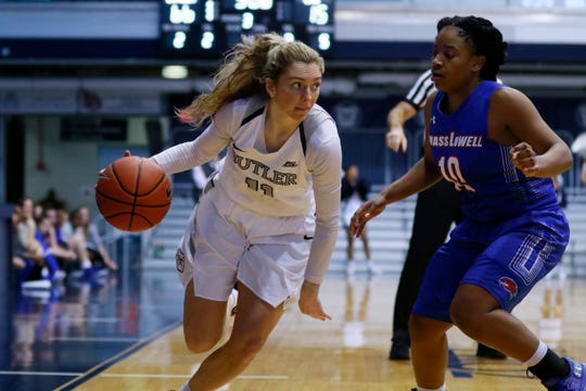 Michelle Weaver averages 8.3 ppg and is fifth in the NCAA with 68 steals.