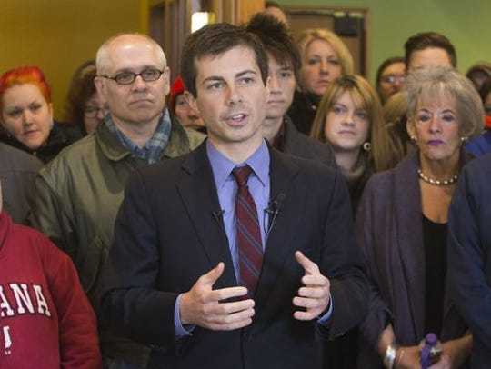 South Bend Mayor Pete Buttigieg in 2017.