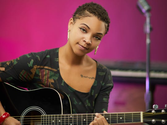 "Singer-songwriter Allison Victoria is a featured artist for this year's ""Art & Soul"" celebration at Indianapolis Artsgarden."