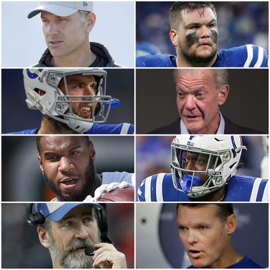 The Colts biggest winners from 2018 include Quenton Nelson, Eric Ebron and Jim Irsay.