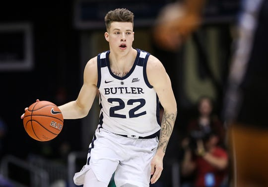 Despite a 2-of-17 shooting slump, Sean McDermott is still Butler's top 3-point shooter.