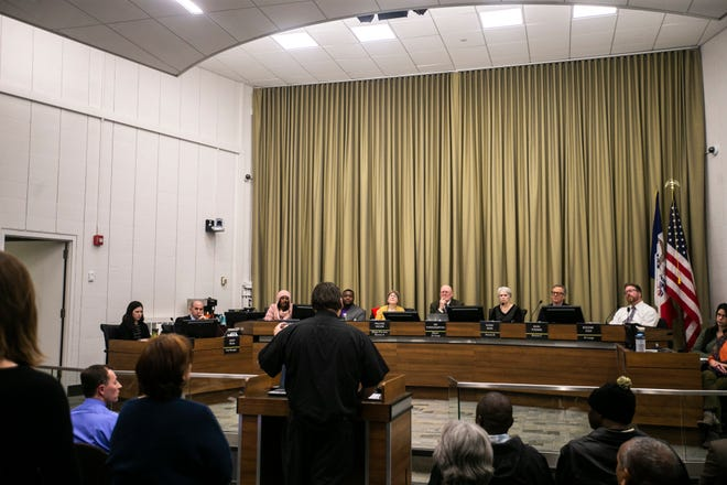 City council voted Tuesday evening to approve the budget.