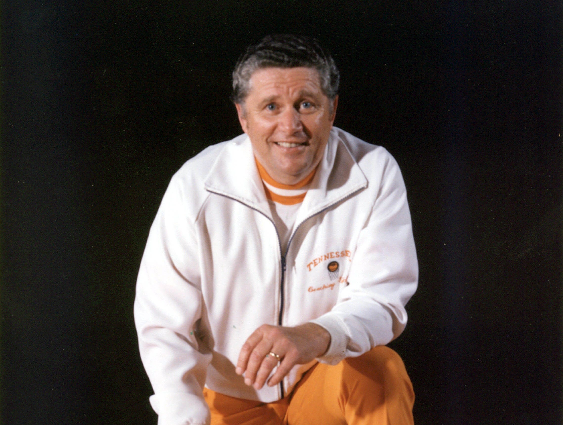 University of Tennessee basketball Coach Ray Mears in an undated photograph. Mears died at age 80 on June 11, 2007. Photo from UT.