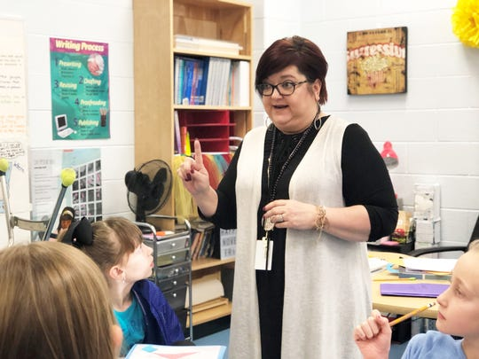 Tammy Young, fourth-grade ELA/Lead teacher at Gibbs Elementary, discusses the importance of first and secondary sources when learning about the Titanic. January 2019