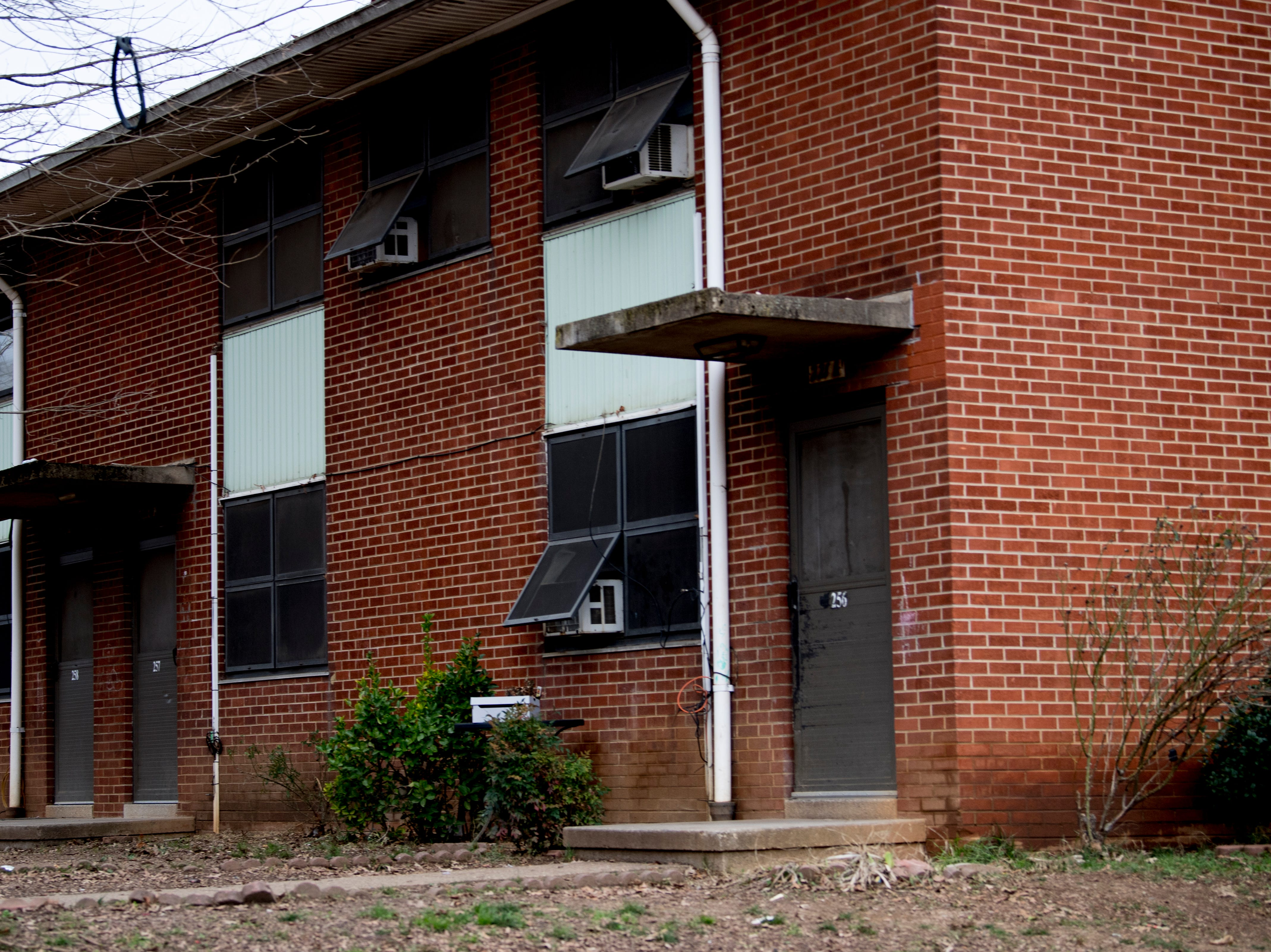 One of the apartment building blocks in Austin Homes in Knoxville, Tennessee, on Wednesday, January 23, 2019. Knoxville's Community Development Corporation (KCDC) plans a revitalization of the site into a residential neighborhood with potential for affordable, workforce and market-rate housing units, as well as other appropriate non-residential uses.