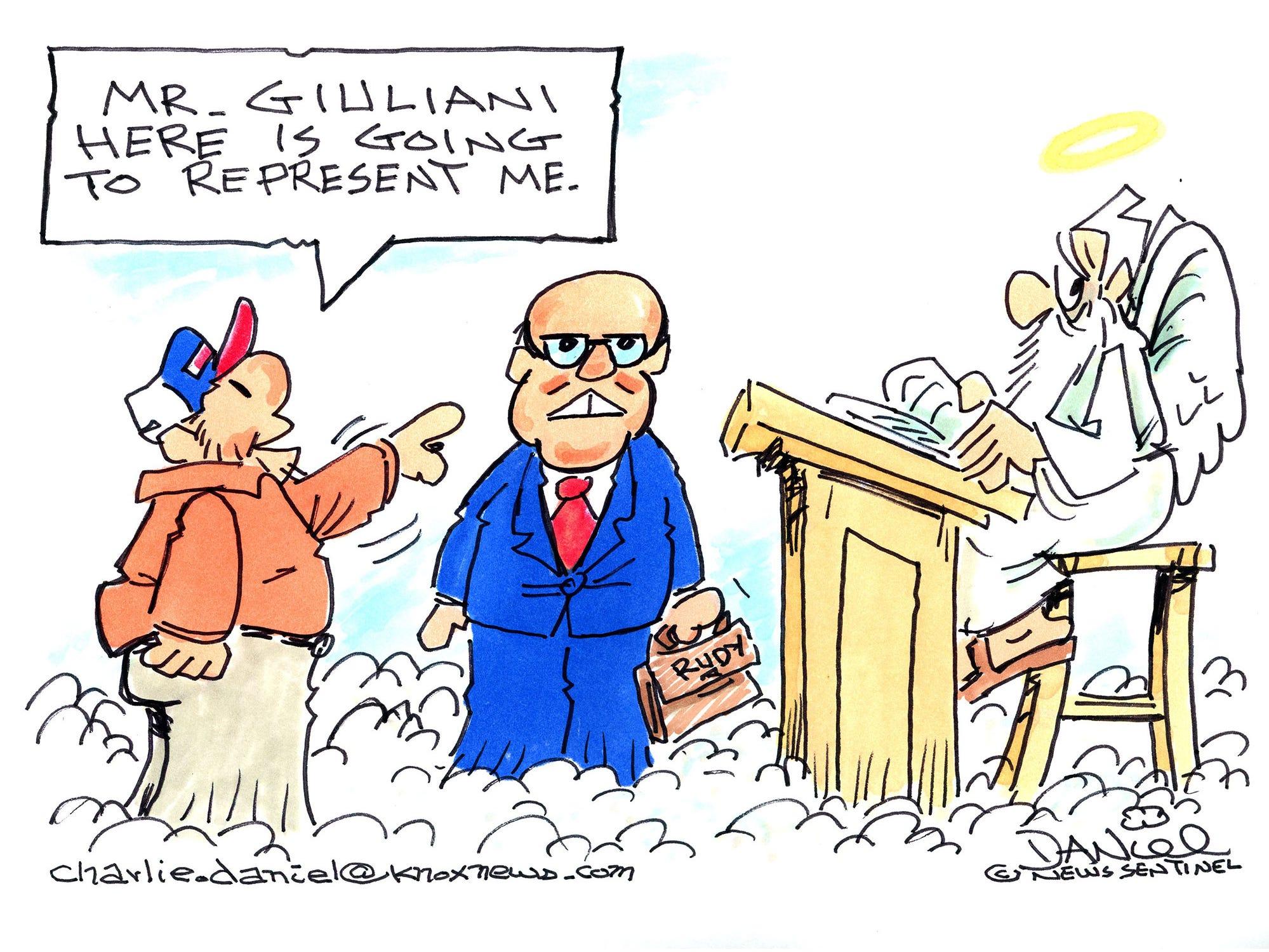 Charlie Daniel cartoon for Jan. 24, 2019