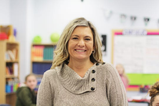 Sandy Webster, fifth grade science and social studies teacher at Gibbs Elementary.