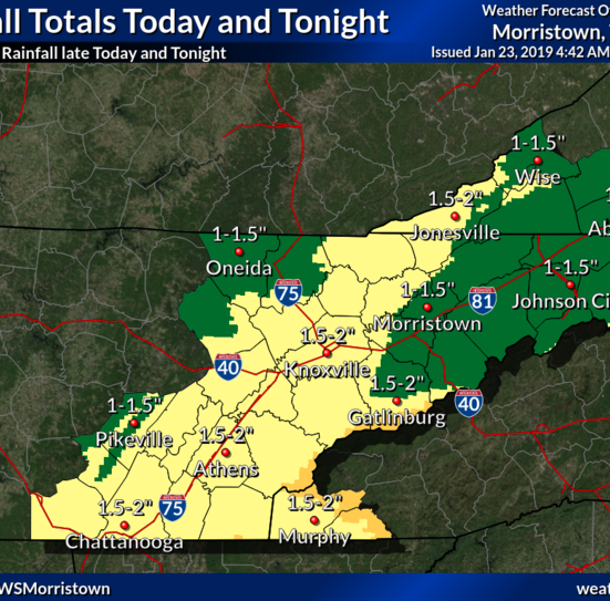 Forecast: Cold showers, but no snow, expected across Knox tonight