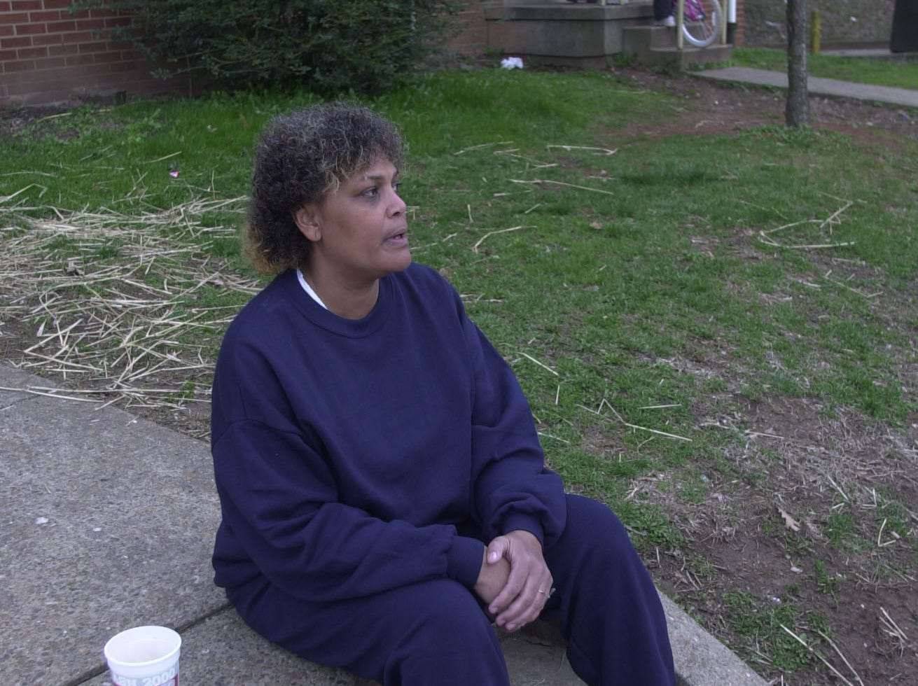 Patricia Hawkins says she has noticed a decrease in crime in her neighborhood over the last decade. The mother of eight hopes President Bush spends some time in the projects before he makes his decision. Hawkins a resident of the Austin Homes Housing complex has spent 29 years living in the projects.