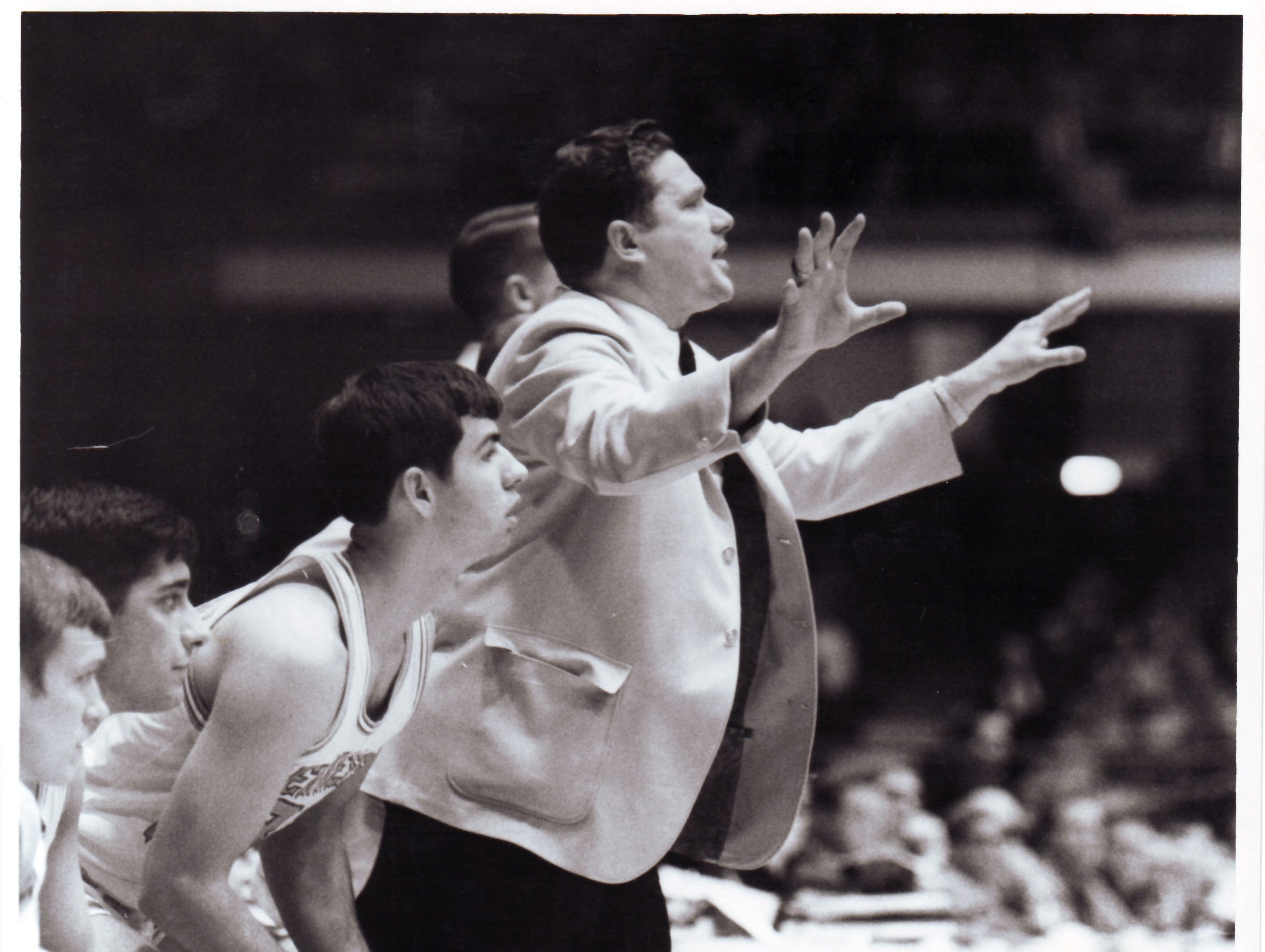 University of Tennessee basketball Coach Ray Mears is pictured in an undated photograph. Mears died at age 80 on June 11, 2007.