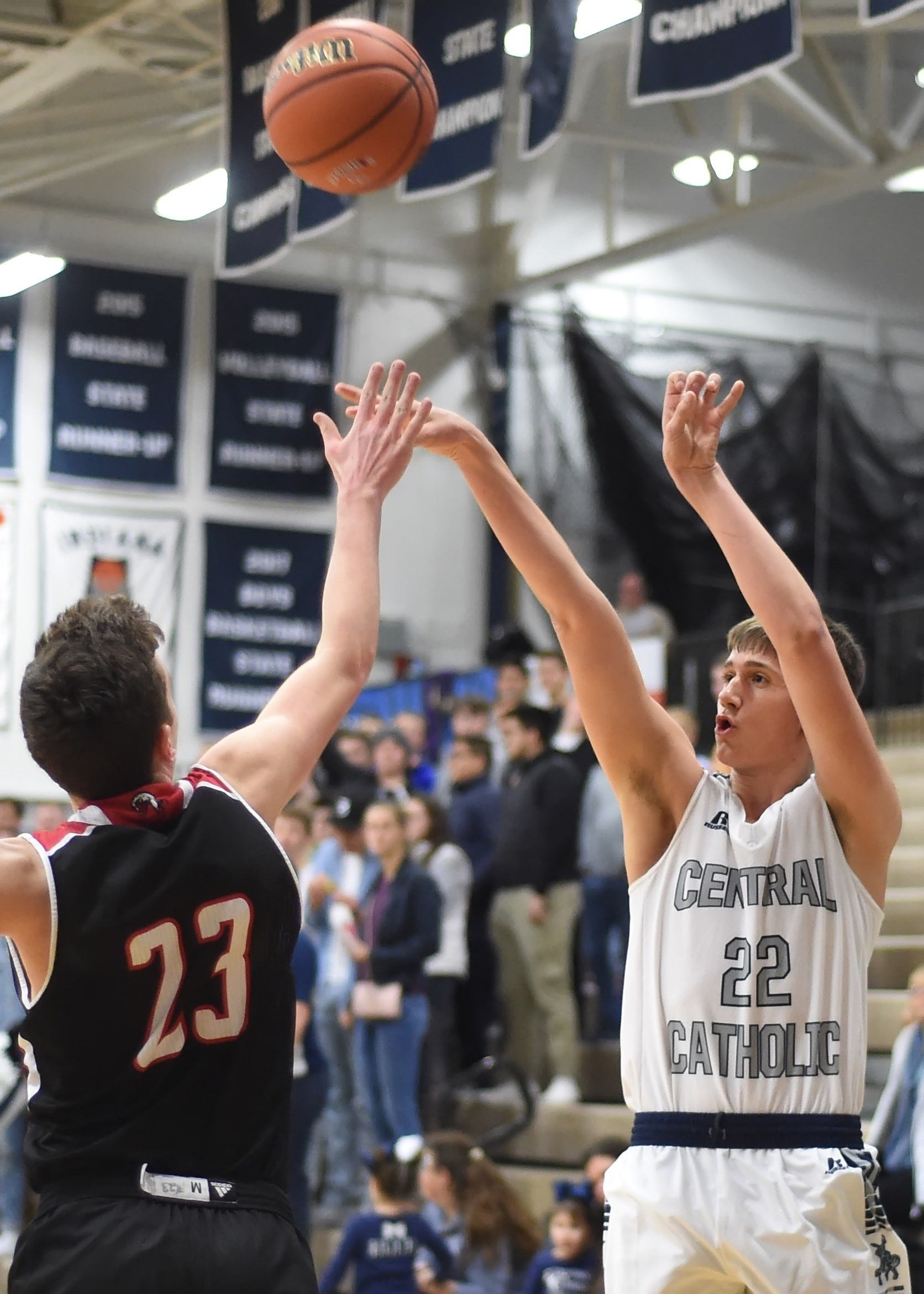 Freshman Clark Barrett will become the fifth member of his family to play in a semistate championship game on Saturday.