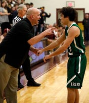 Fisher Catholic's Shawn Brown was named Central District Division IV Boys coach of the Year.