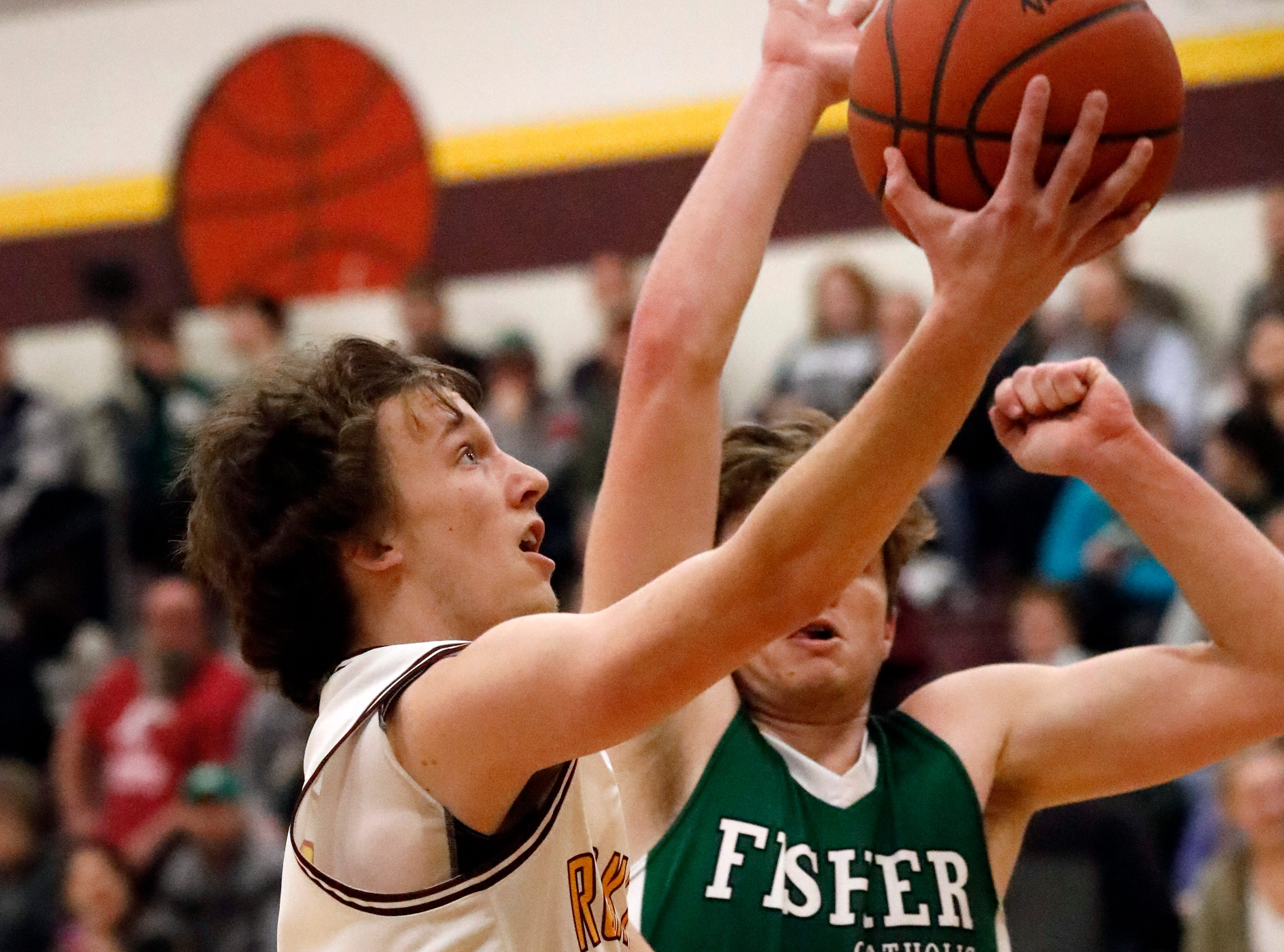 Berne Union defeated Fisher Catholic 58-49 Tuesday night, Jan. 22, 2019, at Berne Union High School in Sugar Grove.