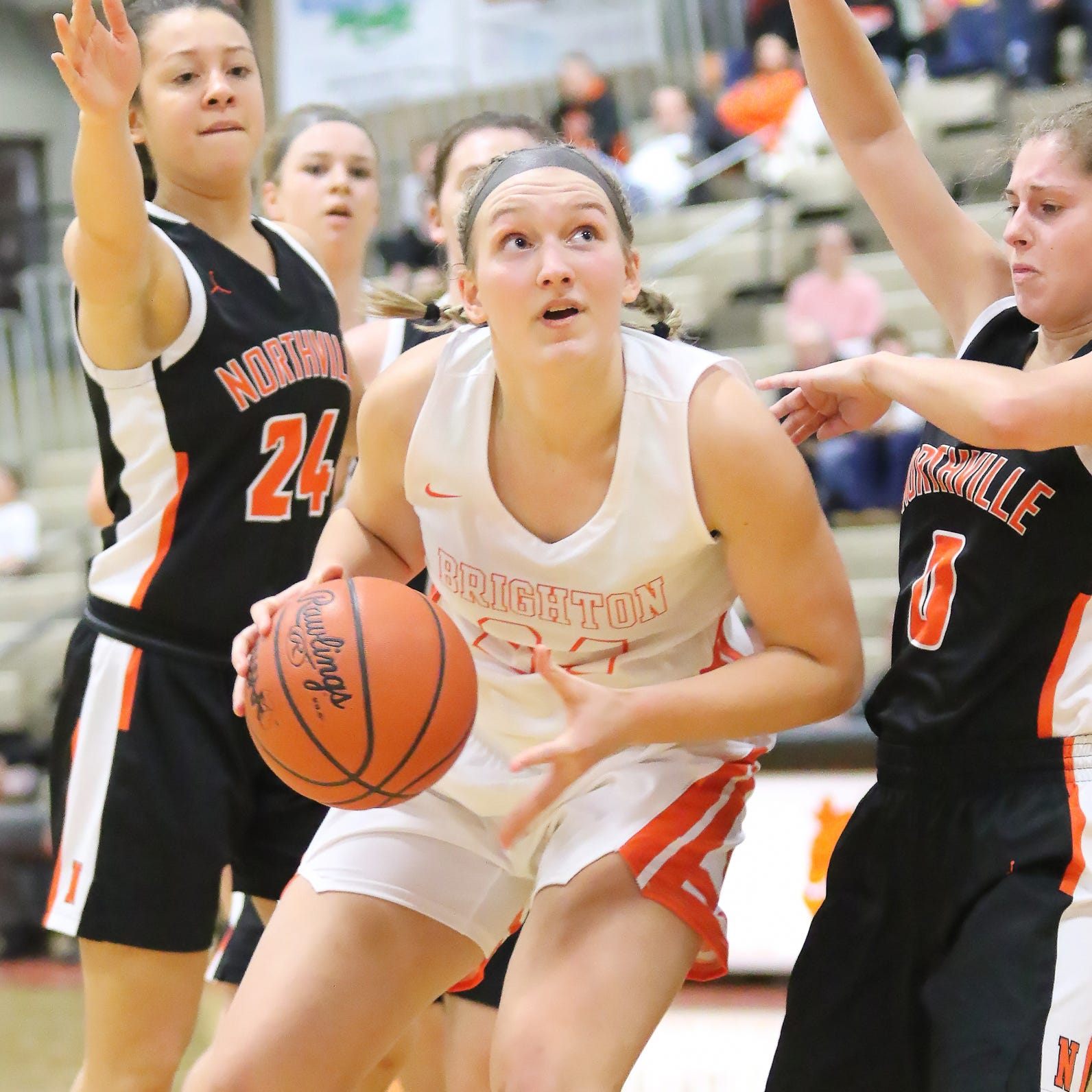 Northville girls hoops coach: 'Even easiest things become difficult' against Brighton