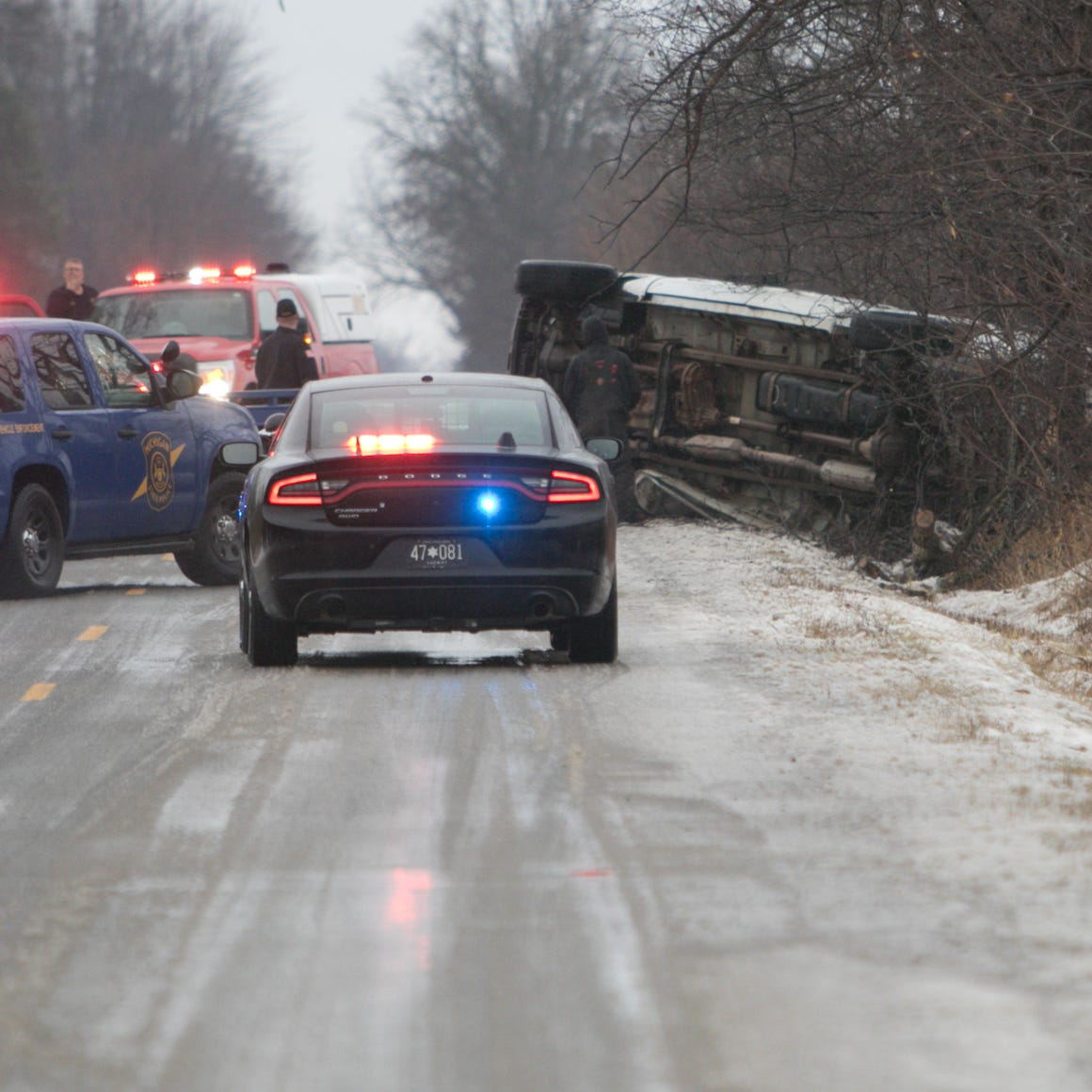 Numerous crashes Wednesday as ice melts, but roads expected to freeze again overnight