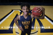 Ja Morant stands on Murray State's home court.