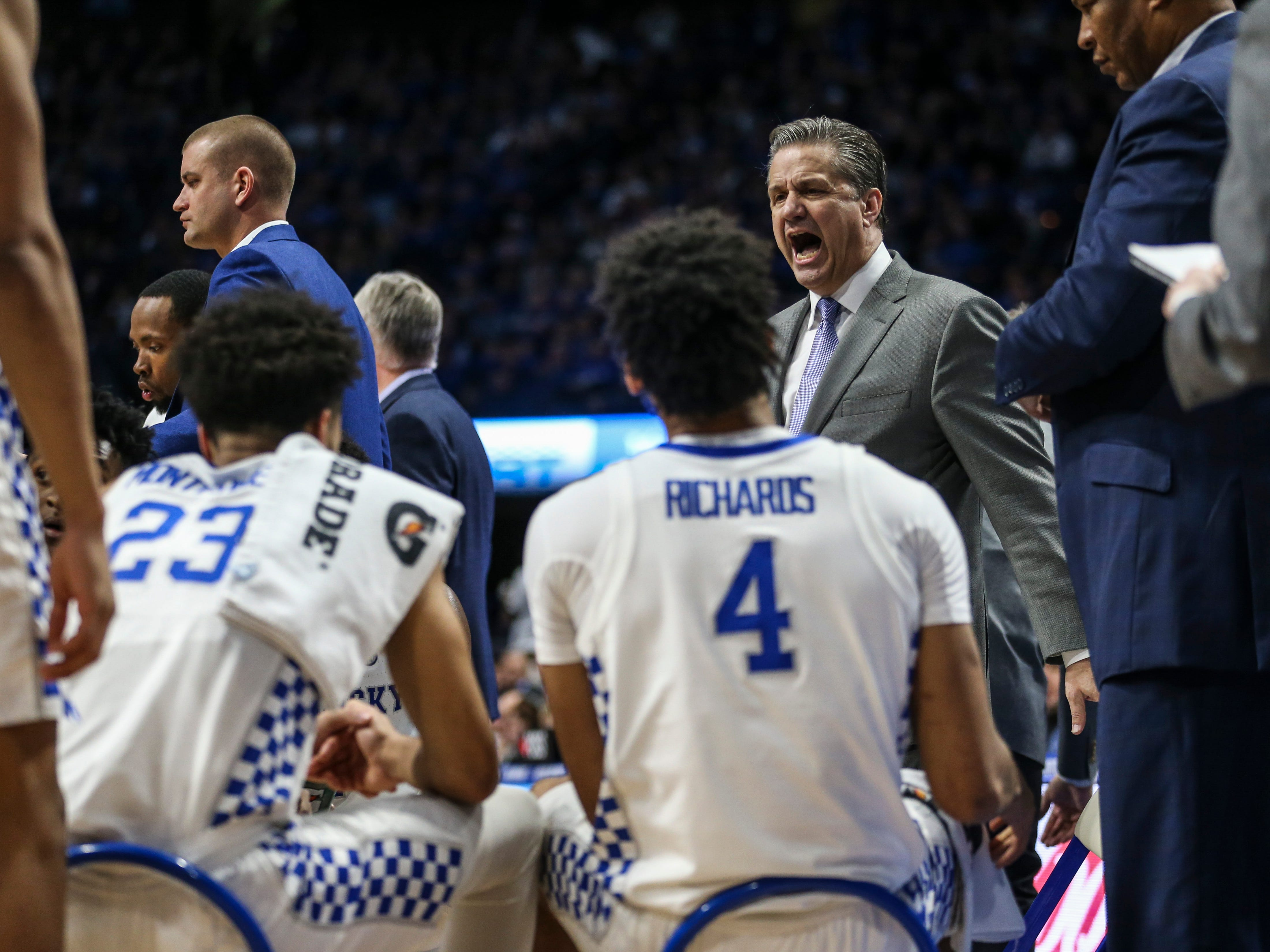 """They are getting better. Now I've just got to keep an eye on being humble and being hungry,"" said John Calipari after UK beat Mississippi State January 22. ""We're just beginning the climb of where we need to go."""