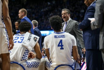 After beating Mississippi State, 'Kansas game is really, really big' says John Calipari