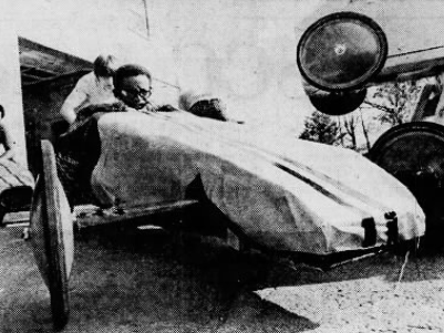 Eight boys from the St. Vincent Home in Lansing worked for months to build their cars for the 1972 Clinton County Soap Box Derby