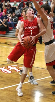 Plymouth's Walker Elliott helped the Big Red to a 12-10 record and a No. 7 finish in the Richland County Boys Basketball Power Poll.