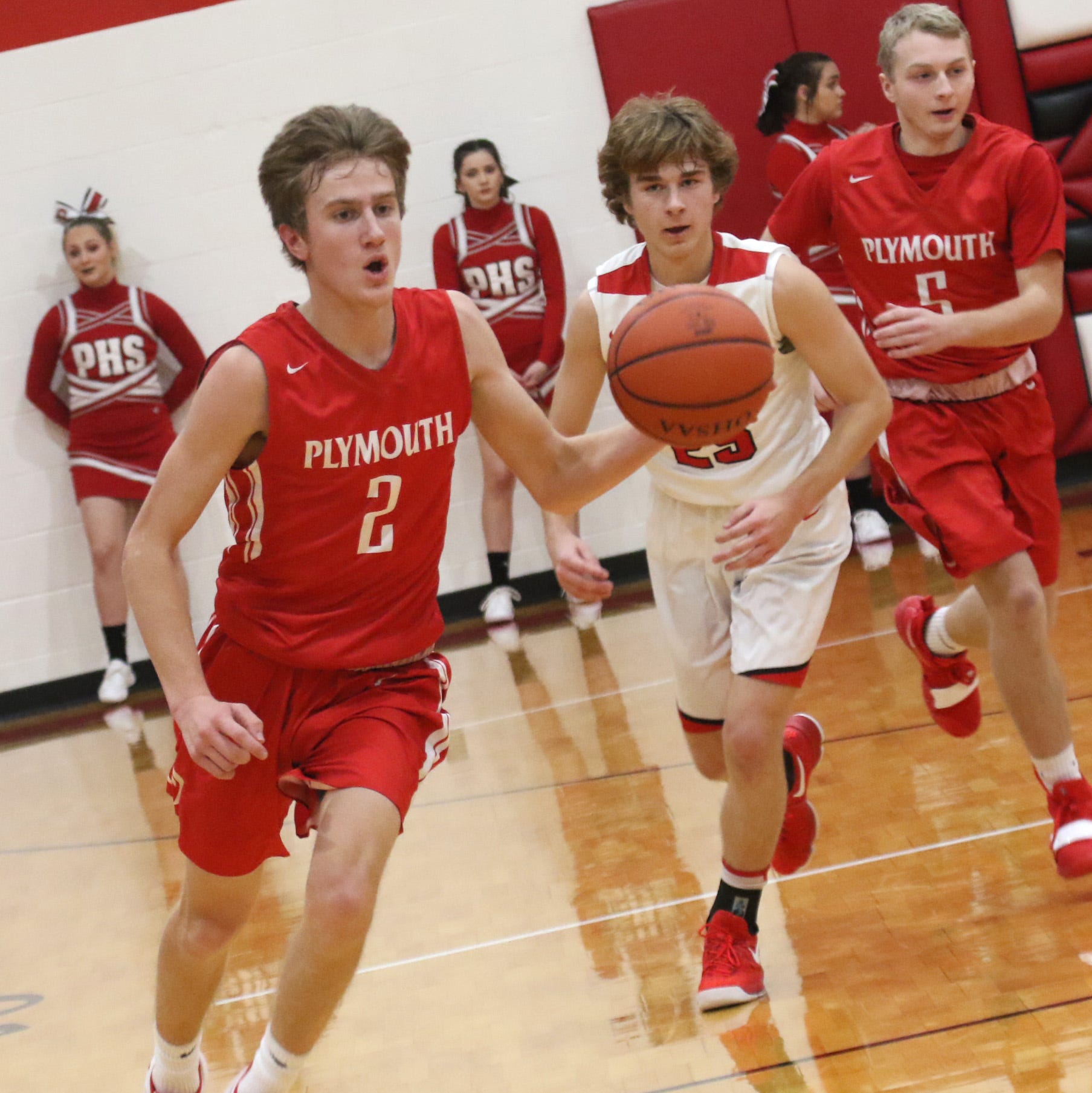 Plymouth's Jacob Adams has special connection in 1,000-point club