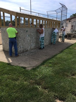 Inmate work program saved Richland County taxpayers $65,000 in labor costs.