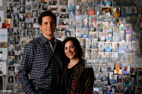 John and Amy Israel Pregulman.