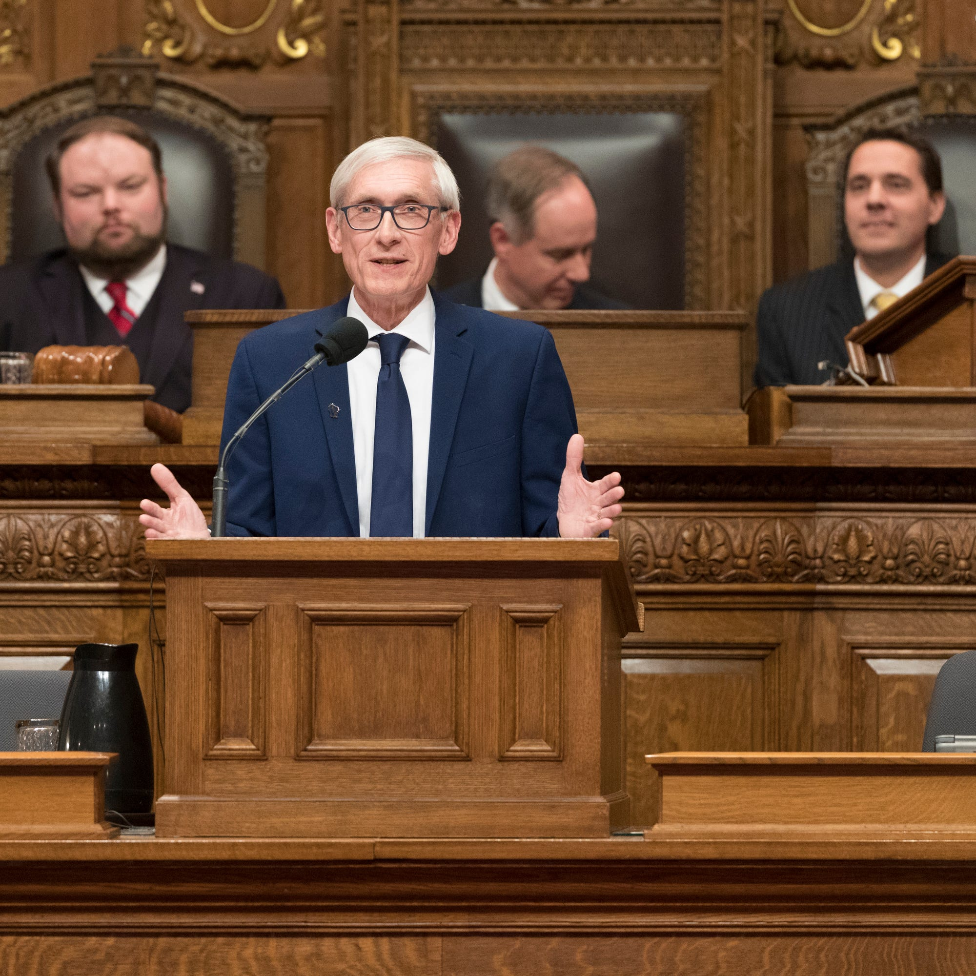Gov. Tony Evers calls for decriminalization of recreational marijuana use