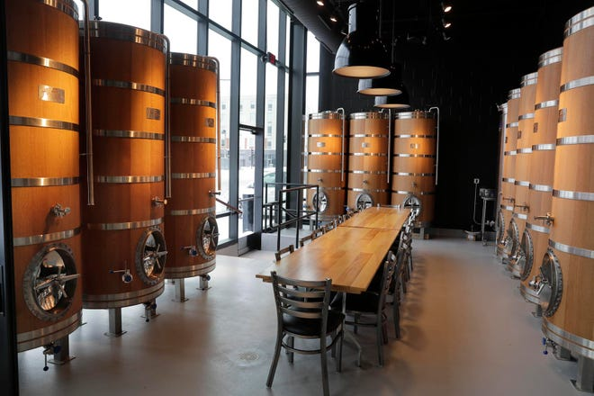 Good City Brewing downtown plans to age wild ales and sour beers at the taproom across from Fiserv Forum. Called the Oak Room, it's available for groups of up to 20 people.