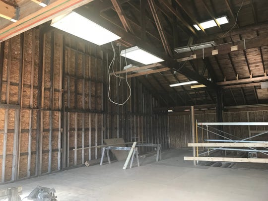 The potential space for a new theatre in Franklin at 11123 W. St. Martins Road in Franklin. The Forte Theatre Company is looking for funding to purchase and renovate.