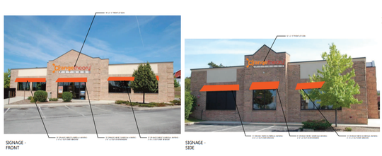 The new Orangetheory gym will be next to a Wells Fargo bank in Menomonee Falls.