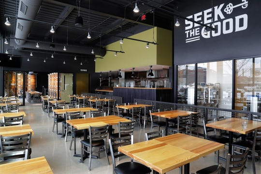 Good City Brewing's new taproom, in the entertainment block across from Fiserv Forum, is having a soft opening this week.