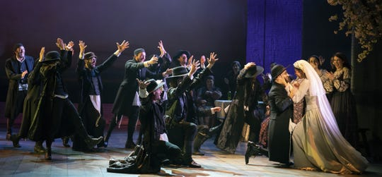 """National touring company of """"Fiddler of the Roof"""" comes to Milwaukee's Marcus Center for performances Feb. 12-17.  Israeli choreographer Hofesh Shechter has refreshed the show's dance and movement."""