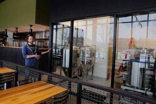 Andy Jones, Good City co-founder and brewmaster, will use the downtown location brewhouse for experimental beers and new recipes.