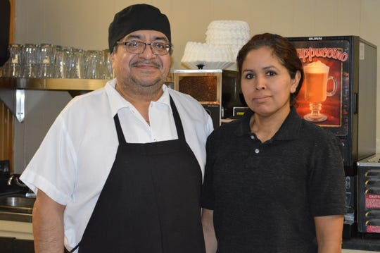 Andres and LucyZavaleta opened Lucy's Cafe in North Prairie in 2017.