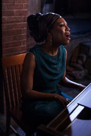 "Crystal Sha'nae is Nina Simone in Alabama Shakespeare Festival's new production of ""Nina Simone: Four Women."""