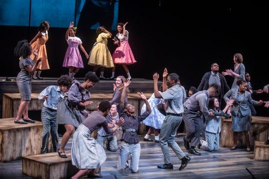 Four Little Girls rehearsal at Alabama Shakespeare Festival in Montgomery, Ala., on Sunday, Jan. 20, 2019.