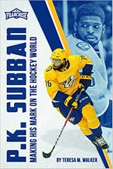 Local Associated Press writer Teresa Walker has written a book on Nashville Predator P.K. Subban.