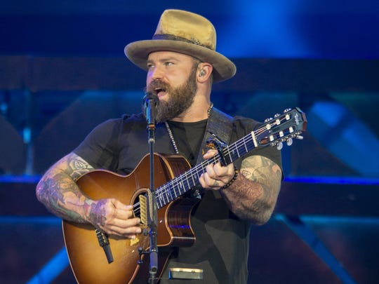 The Zac Brown Band will perform in March in Orange Beach, Alabama, near Pensacola.   Doug McSchooler/For IndyStar