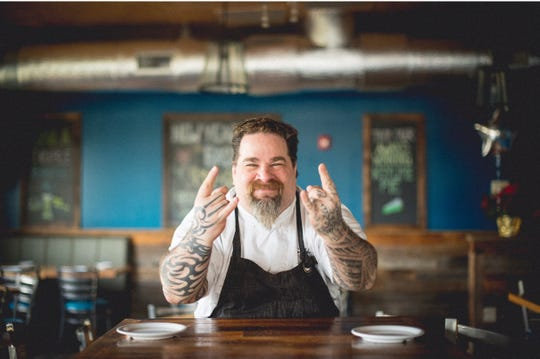 Chef Eric Levine of Crabby's in Randolph